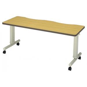 施設向けテーブル DTC-1660K 高さ調節折りたたみ可能 幅160cm|kaigo-scrio