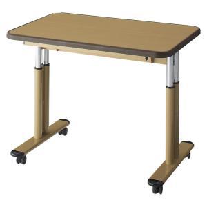 施設向けテーブル NDCT-0960-UWT 高さ調節可能 幅90cm|kaigo-scrio