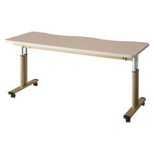 施設向けテーブル NDCT-1660K 高さ調節可能 幅160cm|kaigo-scrio
