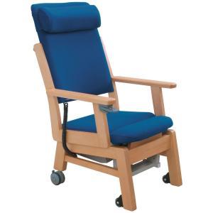 簡単なスイッチ動作で座面シートが昇降 電動起立補助機能付き椅子 MELODY(メロディー)AC-10LH|kaigo-scrio