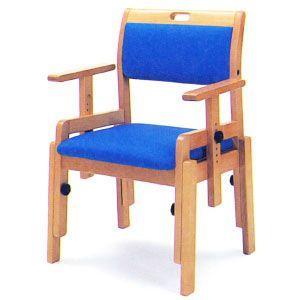 座面高さ調節機能付き椅子 AF-22A|kaigo-scrio