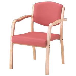 木製スタッキングチェア MSC-150-V 全肘タイプ 施設向け椅子 居室・ダイニングチェア|kaigo-scrio