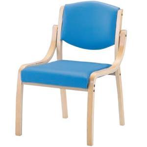 木製スタッキングチェア MSC-110-V 肘なしタイプ 施設向け椅子 居室・ダイニングチェア|kaigo-scrio