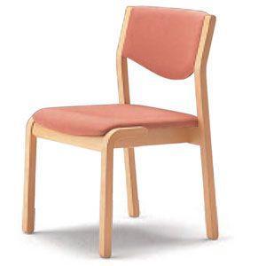 スタッキングチェア かたらい CRH-30-MU 肘なしタイプ 施設向け椅子 居室・ダイニングチェア|kaigo-scrio