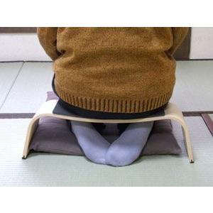 送料無料 楽に正座ができる座椅子 アグラスツール(agra stool) 正座・胡坐椅子|kaigo-scrio|03