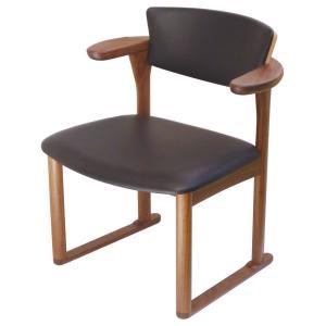 腰にやさしいイス Awaza(アワザ)LD 腰痛予防中座椅子 051W-L ウォールナット材 革張1|kaigo-scrio