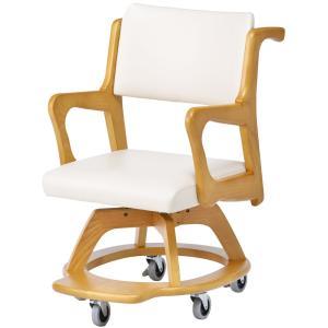 室内用車椅子 WC-S301-IN 座面回転椅子・室内の移動に|kaigo-scrio