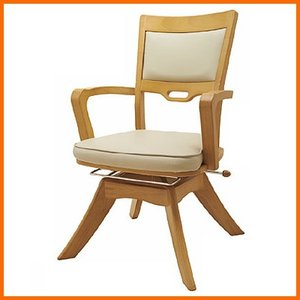 オフィスラボ 座面回転介護椅子 ピタットチェアEX 標準座面タイプ|kaigo-scrio