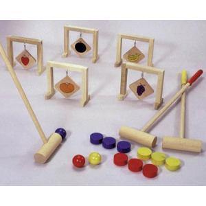 レクリエーション用品 ゲートボール(くだもの) YOT-3507|kaigo-scrio