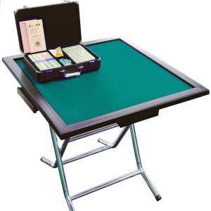 折り畳み麻雀卓 パルぱる牌付セット 介護レクリエーション用品|kaigo-scrio
