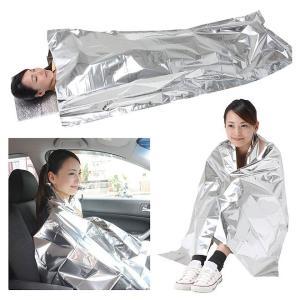 セルレット 防寒シュラフ(マクラ付き) アルミ寝袋 繰り返し使用可能|kaigo-scrio