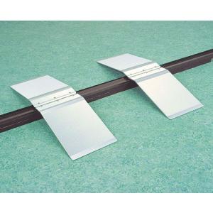 アルミ安心スロープ・渡し板 ステップオーバー型 適応敷居高さ:約10cmまで 敷居幅:11cmまで|kaigo-scrio
