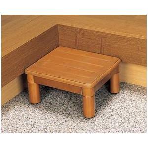 玄関台 踏み台 木製玄関ステップ1段40cm幅 VALSMG400|kaigo-scrio