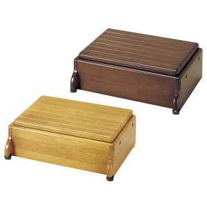 玄関台 踏み台 安寿 木製玄関台 1段高さ可変タイプ S45/60W-30-1段|kaigo-scrio