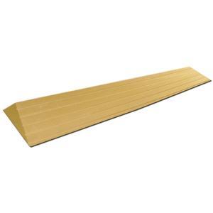 室内段差解消スロープ タッチスロープ TS-100-25 すべり止め溝付 敷居段差 渡し板|kaigo-scrio