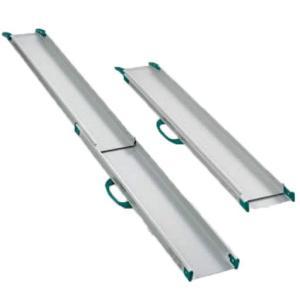 テレスコピック・スロープ 全長200cm 1842 適応段差高さ:約18〜50cm|kaigo-scrio