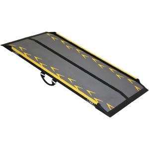 スマートスロープ・渡し板 長さ200cm CA-S200 適応段差高さ:約17〜50cm|kaigo-scrio