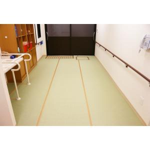脱衣所用畳 湯上りたたみ 幅890mm×10m巻 TC19080 介護施設・病院などにも|kaigo-scrio