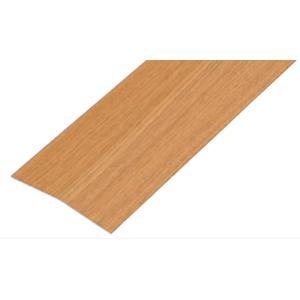 室内段差解消スロープ バリアフリーレール・への字 100幅 段差高さ15cmまで 敷居段差 渡し板|kaigo-scrio
