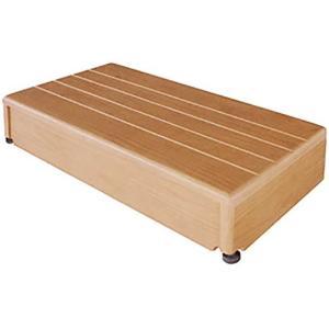 玄関台 踏み台 木製玄関台 微笑の蘭 60W-30|kaigo-scrio