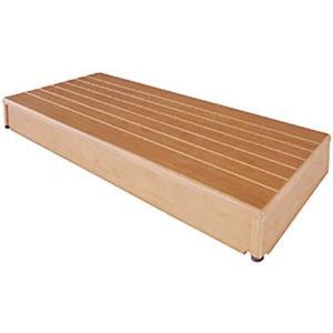 玄関台 踏み台 木製玄関台 微笑の蘭 90W-40|kaigo-scrio