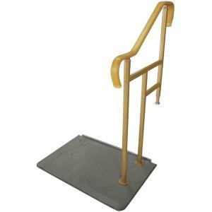 玄関用ベストサポート手すり 2-1 片側手すり 上がりかまち高さ20〜40cm対応|kaigo-scrio