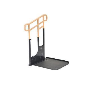 ルーツアウトドア 玄関手すり ステップ台なし 片手すりタイプ|kaigo-scrio