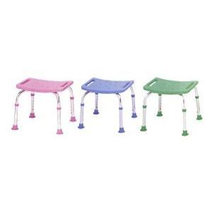 シャワーチェアコンパクトミニ 背もたれなしタイプ シャワーベンチ シャワー椅子|kaigo-scrio