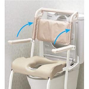シャワーキャリー お風呂・入浴用車椅子 TOTO 水まわり用四輪キャスター車いす(ソフトシート)EWCS604AS|kaigo-scrio|06