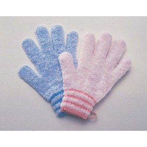 洗体介助につかう浴用の手袋 浴用やさしい手|kaigo-scrio