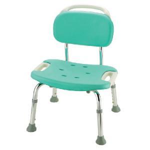シャワーチェア やわらか座面 やわらかシャワーチェア 背もたれ付ワイド|kaigo-scrio