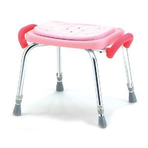 シャワーチェア やわらか座面  シャワーいすローグリップ付 SC-12|kaigo-scrio