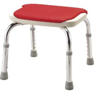 安寿シャワーベンチCPE-N シャワーチェア シャワー椅子 レッド/ブルー|kaigo-scrio