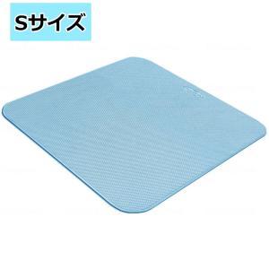 浴室すべり止めマット 転倒防止バスマット ダイヤタッチ Sサイズ 38×40cm バスマット|kaigo-scrio