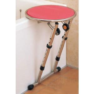 回転盤付きの入浴補助台 入浴補助台 まどか 回転盤付 ロータイプ|kaigo-scrio