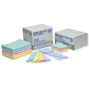 抗菌・防臭・防虫 業務用抗菌介護タオル 抗菌バスタオル 20枚入り|kaigo-scrio