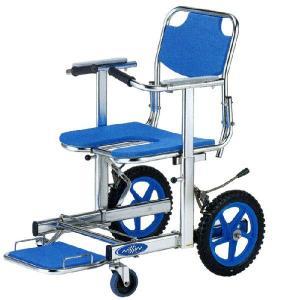 シャワーキャリー お風呂・入浴用車椅子 ステンレスシャワーチェア NSW-12 前座高45cm|kaigo-scrio