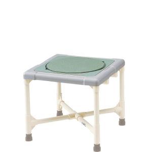 浴槽への移乗台としてもご使用可能 シャワーいす ターンテーブルタイプ F型 CAT-0201 シャワーチェア シャワーベンチ|kaigo-scrio