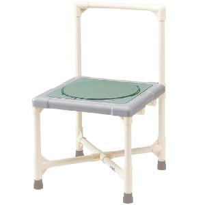 浴槽への移乗台としてもご使用可能 シャワーいす ターンテーブルタイプ 背もたれ型 CAT-0301 シャワーチェア シャワーベンチ|kaigo-scrio