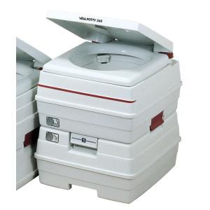ビザ・ポータブル水洗トイレ 24Lタイプ|kaigo-scrio