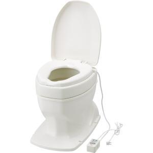 和式トイレを洋式にする便器(簡易設置トイレ) サニタリーエースOD据置式(暖房便座補高8cm) kaigo-scrio