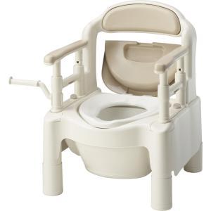 ポータブルトイレ 介護用品 安寿FX-CP<ちびくまくん kaigo-scrio