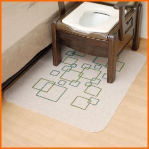 トイレマット ポータブルトイレ用消臭マットR 49006|kaigo-scrio
