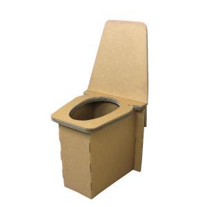 簡易・非常用トイレ @トイレ アットトイレ 強化ダンボール凝固剤・その他備品付き|kaigo-scrio