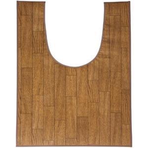 トイレマット 木目調トイレ用マット レギュラー 樹脂素材 60×90cm|kaigo-scrio