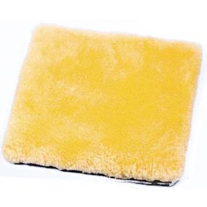 ナーシングラッグ 角座クッション 薄型穴なし NR-30 床ずれ予防羊毛|kaigo-scrio