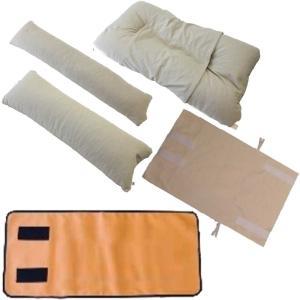 誤嚥予防介護枕 イージースワローBセット ベッド上での食事介助、誤嚥予防 体位保持、座位保持にも|kaigo-scrio