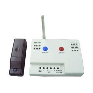 高齢者生活支援簡易システム きずな 安否確認型基本セット LAN対応型|kaigo-scrio