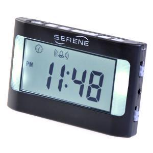 時計本体の強力な振動またはアラーム音の振動式目覚まし時計 ビブラ VA3 耳が遠い人・高齢者向け|kaigo-scrio
