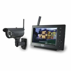 ワイヤレス カメラ&モニター CMS-7110 外出先からもスマホでみまもり|kaigo-scrio
